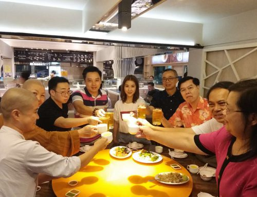 CCS Lecturers and Students Welcoming 2019 Chinese New Year of Pig