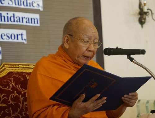 Phra Promwachirayan Opens the First Makhapuja International Conference